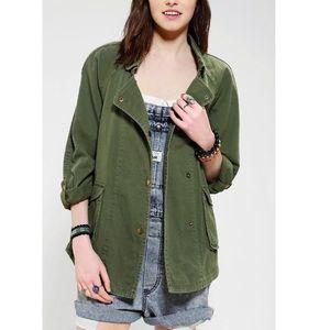 🌷SALE Elizabeth James Kelsey green utility jacket